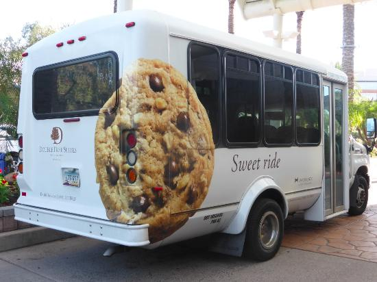 Doubletree Suites By Hilton Hotel Phoenix Phx Airport Shuttle Bus
