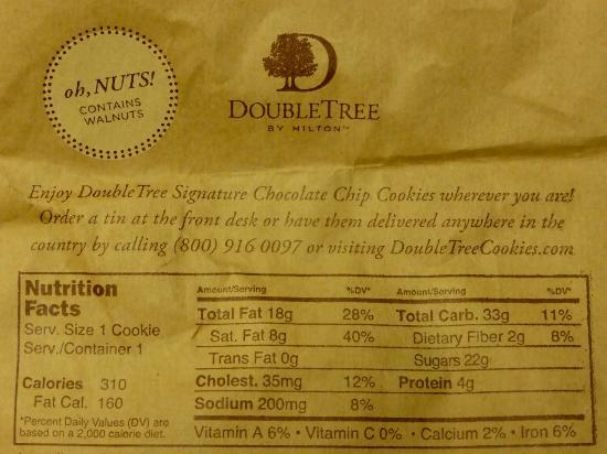 DoubleTree Suites by Hilton Hotel Phoenix: Details about the famous DoubleTree cookie
