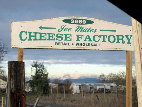 Joe Matos Cheese Factory, Santa Rosa, Ca