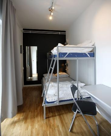 Connect Hotel Skavsta: Quick sleep room with shared b
