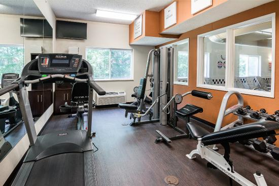 Comfort Suites Nacogdoches: Fitness Room