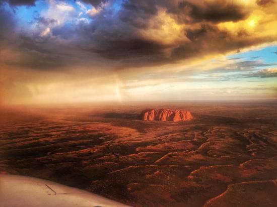 Ayers Rock Scenic Flights: Ayers Rock
