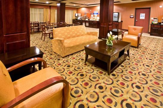 Denison, TX: Breakfast sitting area