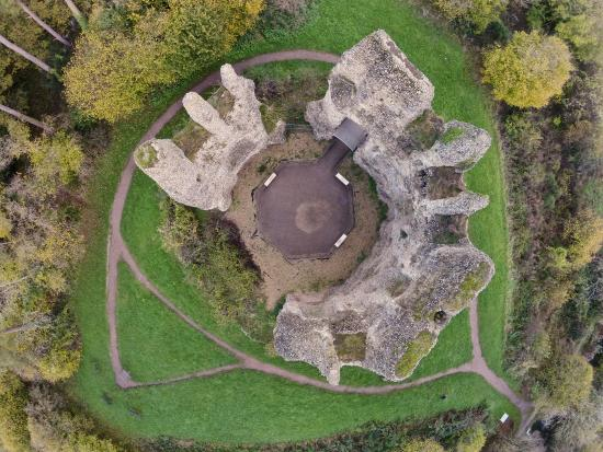 North Warnborough, UK: Pictured from directly above using my drone.