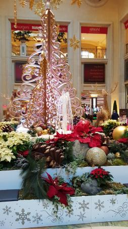 Christmas Decorations Picture Of The Palazzo At The Venetian Las