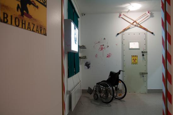 Zombie Lab Picture Of Escape Room Fox In A Box Zagreb