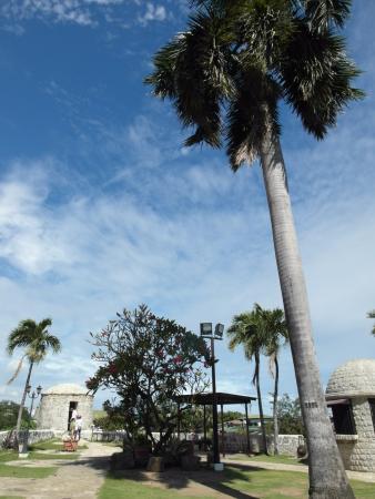 Fort San Pedro: 戶外炮台