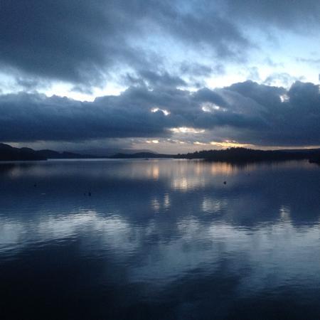 Lodge on Loch Lomond: Taken from our room window