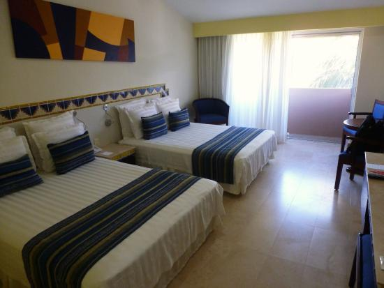 chambre double standard - Picture of Viva Wyndham Azteca, Playa del ...