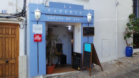 Cocina De Ana | Entrada Principal Picture Of La Taperia Cocina De Ana Peniscola