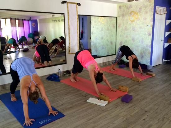 Ser Om Shanti Yoga Studio - Picture of SER Om Shanti Yoga ...
