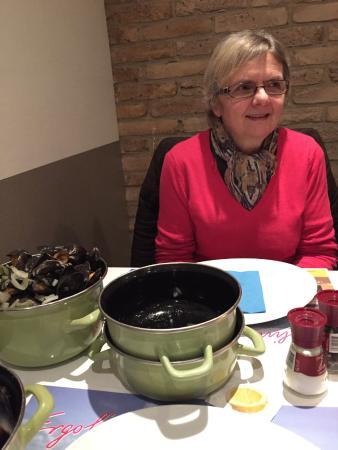 Gistel, Belçika: suggestie mosselen met frietjes