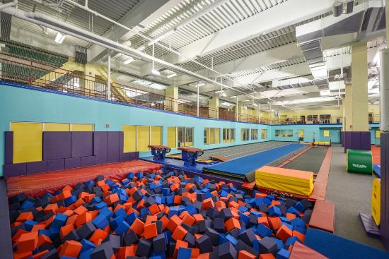 Gymnastics Room Picture Of Chelsea Piers Connecticut