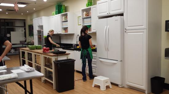 Kitchen area where staff teaches - Picture of Taste Buds ...