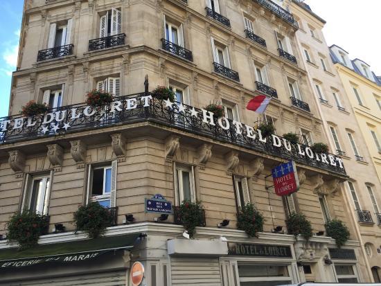 Vue de l\'hôtel - Picture of Grand Hotel du Loiret, Paris - TripAdvisor
