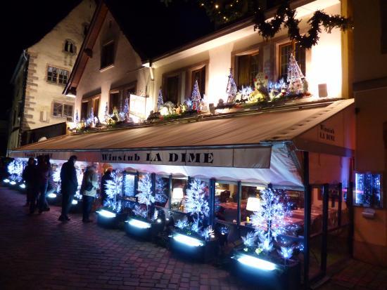 Restaurant winstub la dime obernai restaurant avis for Restaurant piscine obernai