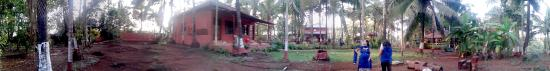 Guhagar, Indie: mazhya mamacha gaon total view