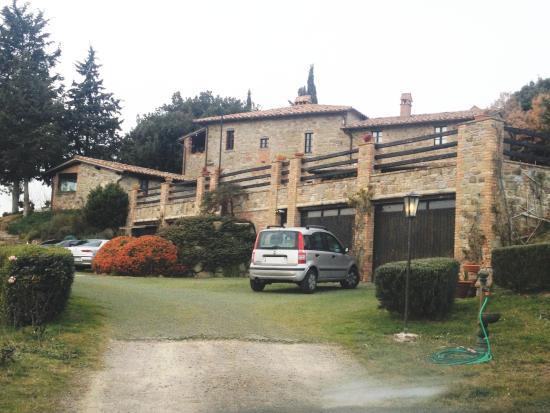 Castel Rigone, Italia: L'agriturismo...