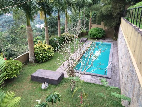 ‪‪Baramba House‬: The north facing pool with stone sun beds‬
