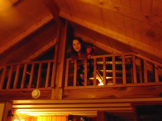 Lake of the Woods Resort: Loft is roomy, especially for kids