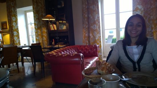 Aloxe-Corton, Frankrijk: Breakfast