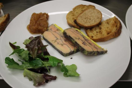 Terrine de foie gras au Madiran