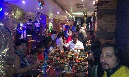 Barbeque Nation Hospitality: fun with friends