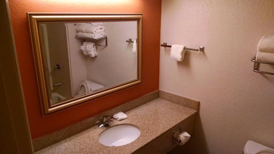 La Quinta Inn Orlando International Drive North: Banheiro