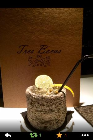 Restaurante Tres Bocas: cocktels 2