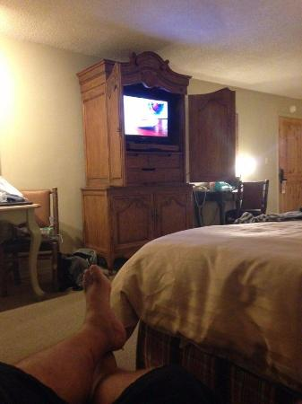 The Lodge at Riverside: Spacious Rooms