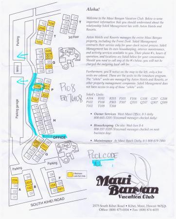 Grounds Map Picture of Aston at the Maui Banyan Kihei TripAdvisor