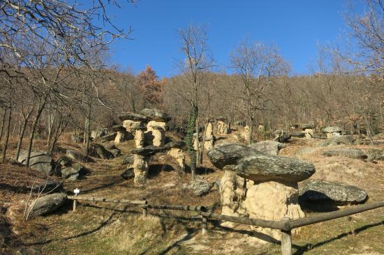 Riserva Naturale dei Ciciu del Villar: visione dei Ciciu