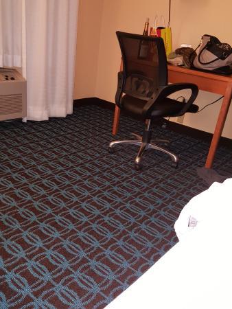 Room decor at Fairfield Inn Duluth mn