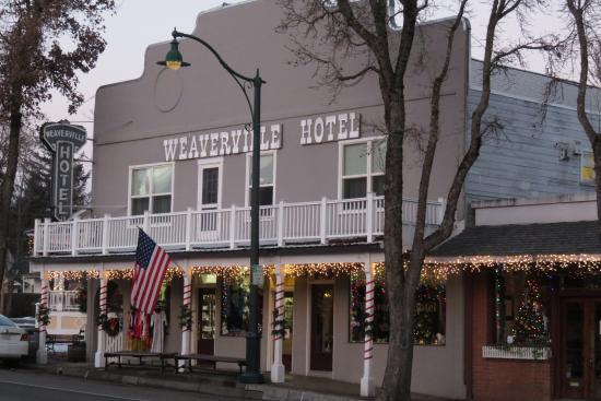 Weaverville Hotel - exterior