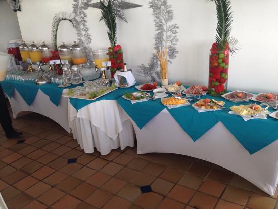 Hotel Casablanca: Breakfast buffet