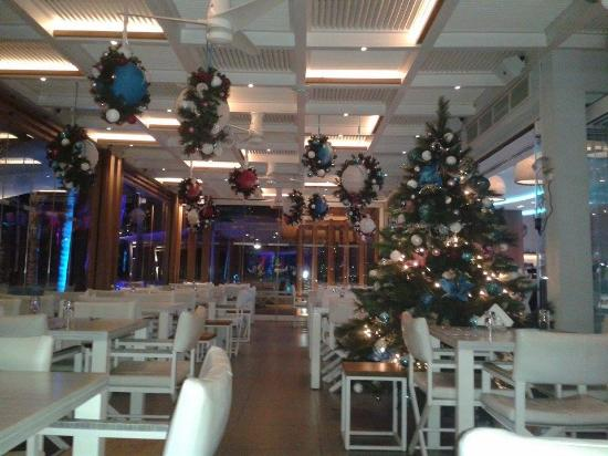 malindi beach bar restaurant malindi beach beautiful christmas decorations