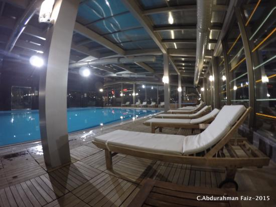 Swimming pool picture of grand ankara ankara tripadvisor for Grand hamit hotel ankara