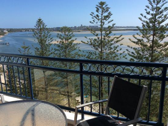 Golden Beach, Australia: Looking north east toward Caloundra