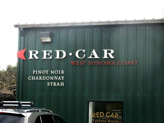 Red Car Winery Tasting Room, Sebastopol, Ca