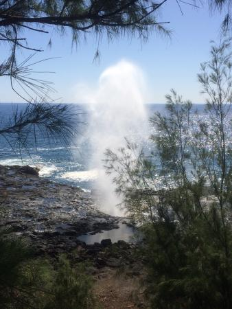 Spouting Horn: Constant display of natures force