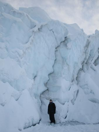 Sutton, Аляска: Glacier Face