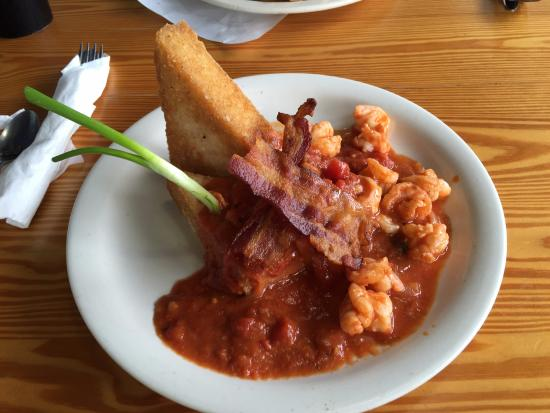 Shrimp and Grits - Picture of Florida Cracker Kitchen, Brooksville ...
