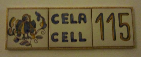 Pousada Convento de Evora: Room number!