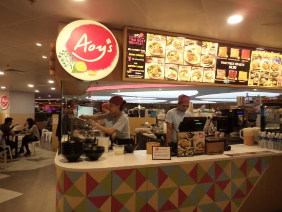 Aoy's Thai Noodle Bar: 看板