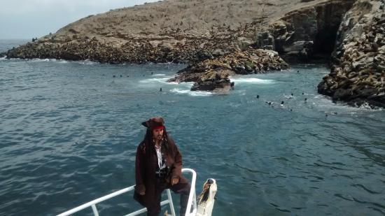 "Islas Palomino: ""El pirata"""