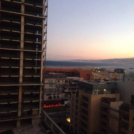 Ramada Beirut Downtown: Sea view from 12th floor