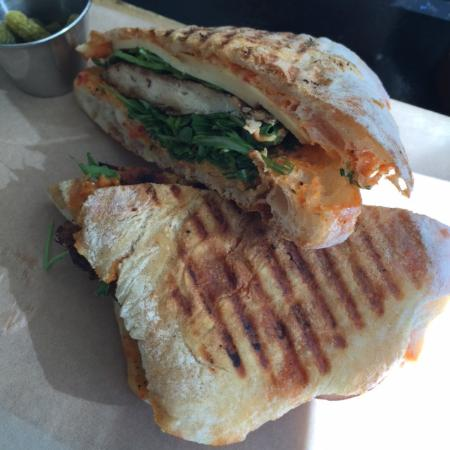 Chicken Gouda Sandwich Picture Of Food Lab Los Angeles