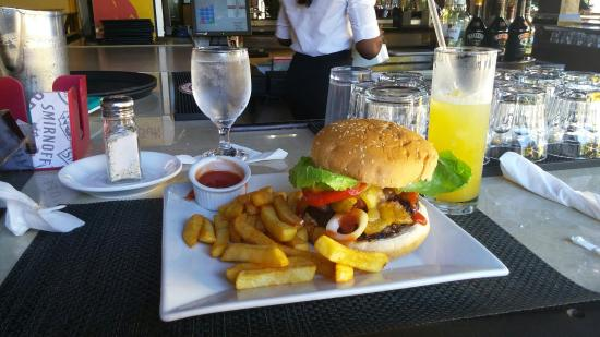 Mongoose Jamaica Restaurant And Lounge Signature Burger
