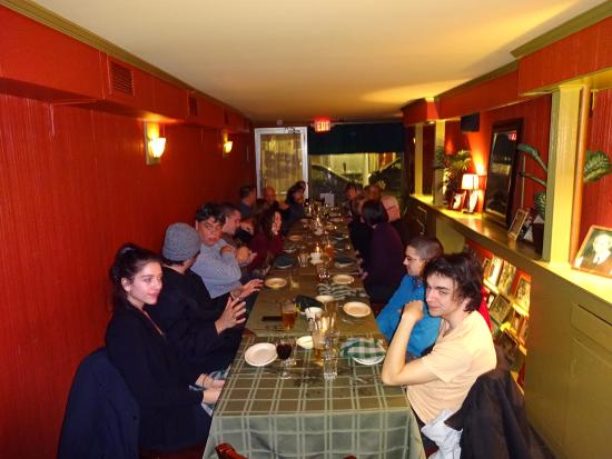 Kingston, Nowy Jork: family event in private dining room