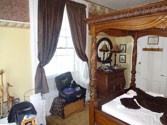 Mount Morris, NY: interior of room